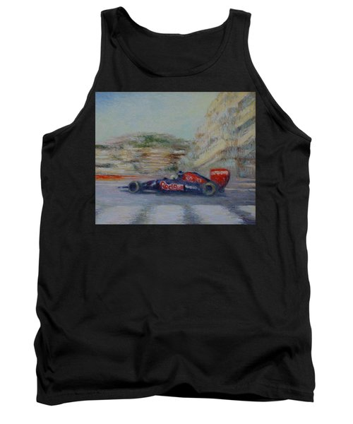 Redbull Racing Car Monaco  Tank Top
