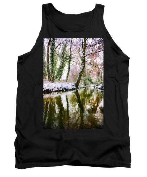 Reflected Winter Tank Top