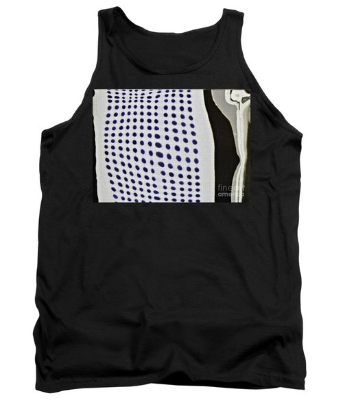 Tank Top featuring the photograph Reflection On 42nd Street 1 Negative by Sarah Loft