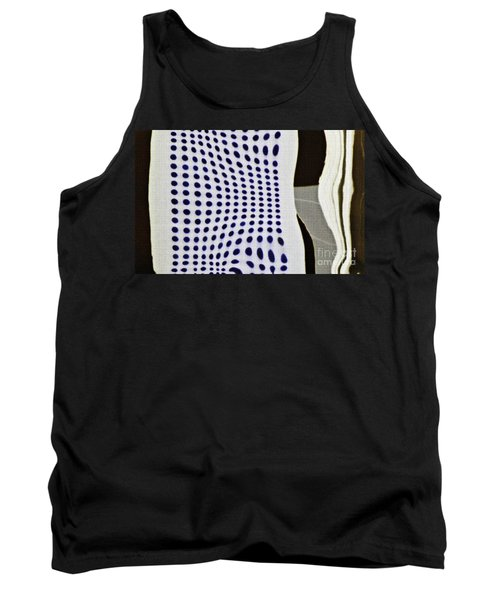 Tank Top featuring the photograph Reflection On 42nd Street 2 Negative by Sarah Loft