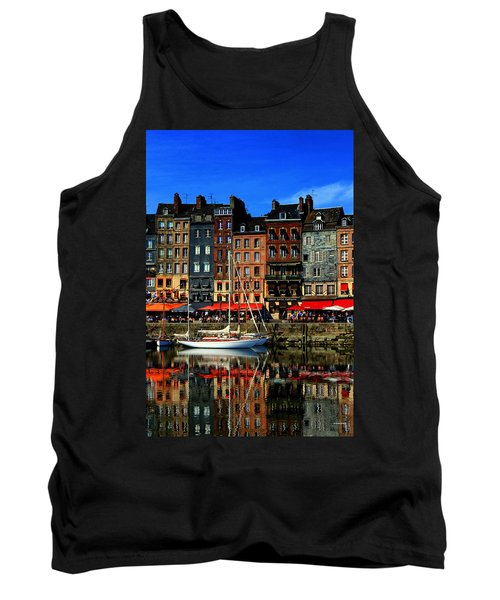 Reflections Honfleur France Tank Top