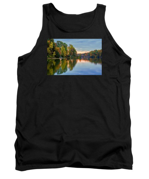 Reflections Of Autumn Tank Top