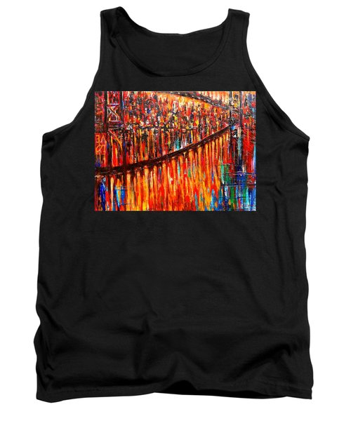 Reflections Of My Childhood Tank Top by Helen Kagan