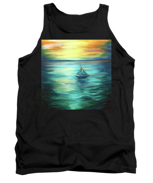 Reflections Of Peace Tank Top