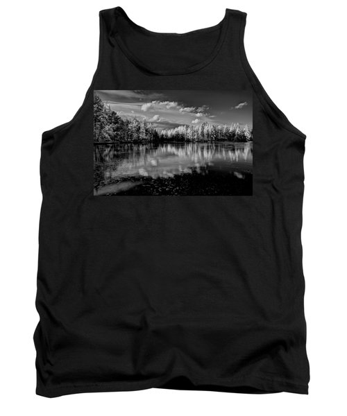 Reflections Of Tamaracks Tank Top by David Patterson