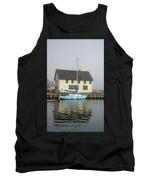 Reflections Of The Boat Builder Tank Top