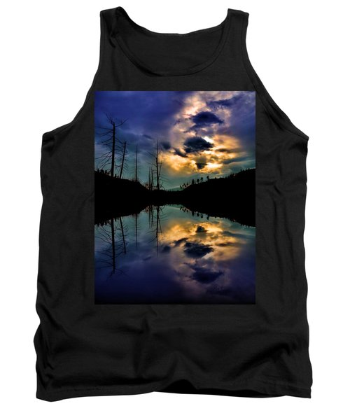 Tank Top featuring the photograph Reflections by Tara Turner