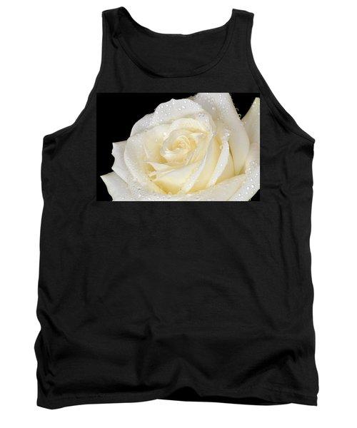 Refreshing Ivory Rose Tank Top