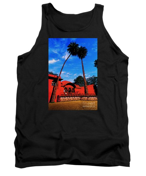 Relax With Nature Tank Top by Manjot Singh Sachdeva