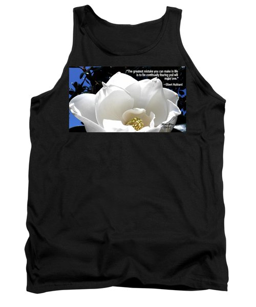 Relief 2, With Quote.  Tank Top