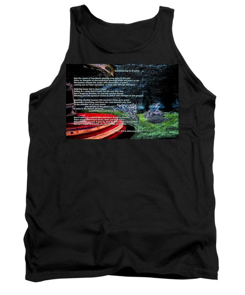 Remembering To Breathe Tank Top