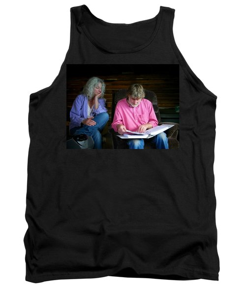 Reminiscing Tank Top by Lenore Senior