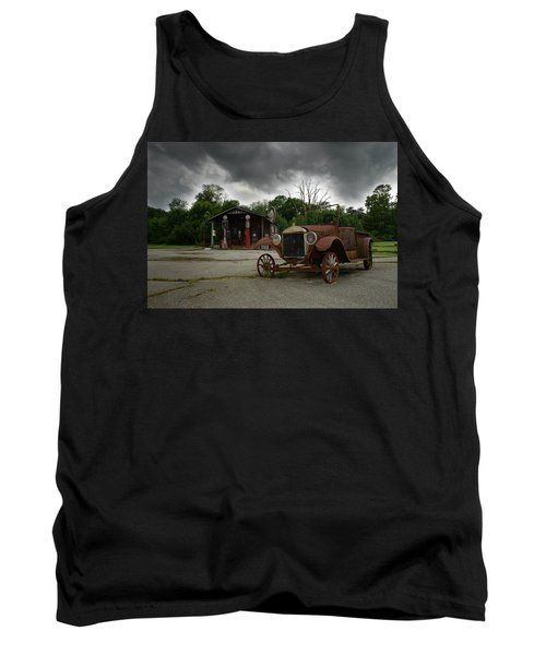 Tank Top featuring the photograph Remnants Of Yesterday by Renee Hardison