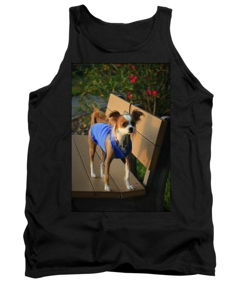 Ren The Chinese Crested Mix Tank Top