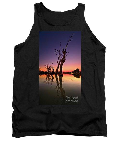 Renmark South Australia Sunset Tank Top by Bill Robinson