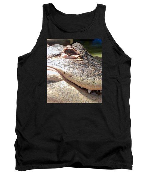 Reptilian Smile Tank Top
