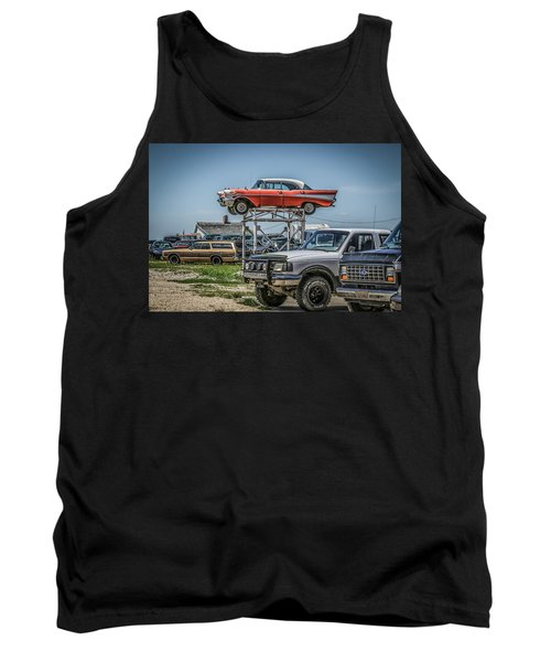 Reserved Parking Tank Top by Ray Congrove