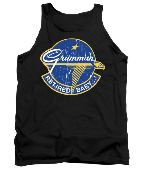 Retired Baby - Distressed Look Tank Top