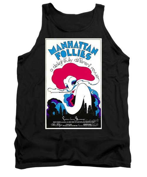 Tank Top featuring the photograph Retro Theater Poster 1979 by Padre Art