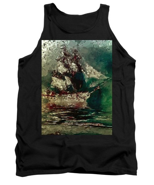 Return Of The Flying Dutchman Tank Top