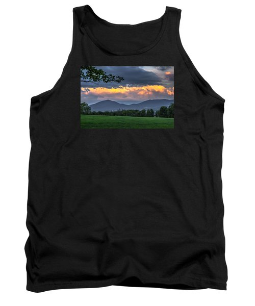 Reverse Sunset Tank Top by Tim Kirchoff