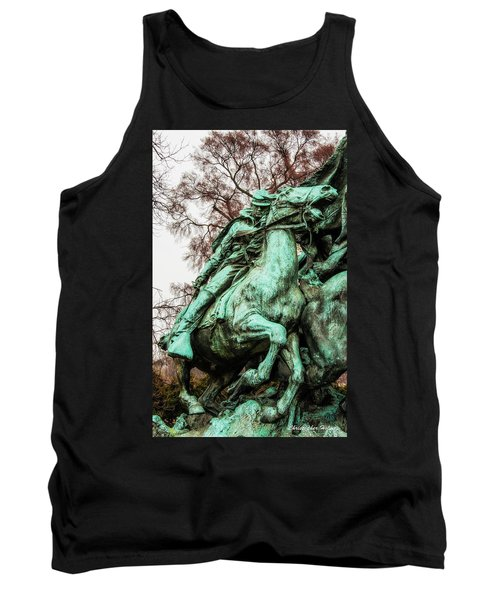 Tank Top featuring the photograph Riding Tight by Christopher Holmes