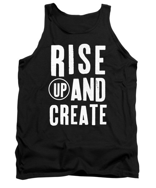Rise Up And Create- Art By Linda Woods Tank Top