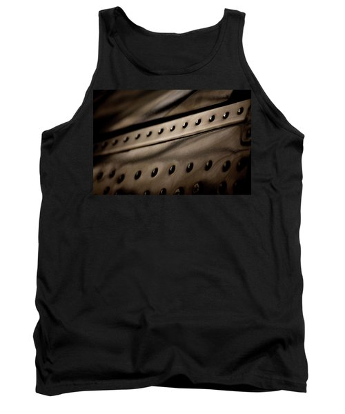 Tank Top featuring the photograph Rivets by Paul Job