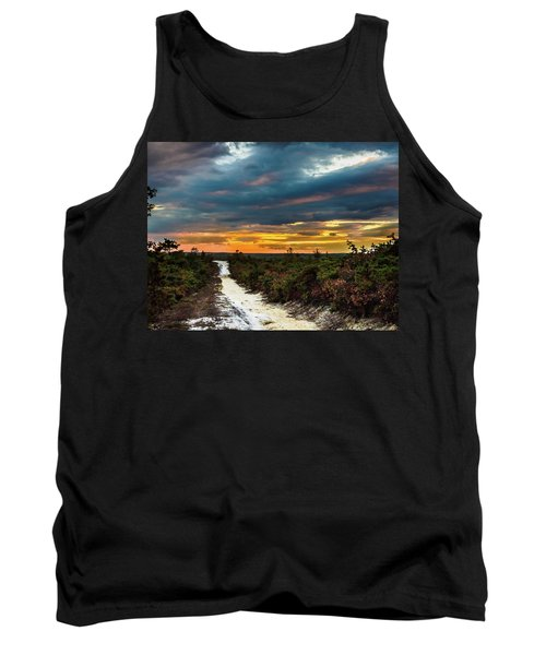 Road Into The Pinelands Tank Top