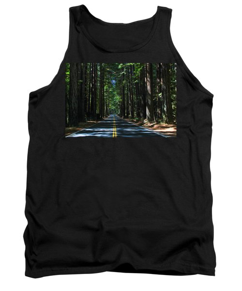 Road To Mendocino Tank Top