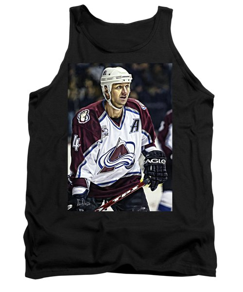 Tank Top featuring the photograph Rob Blake 1 by Don Olea