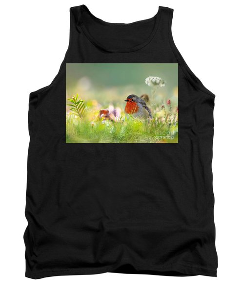 Robin Red Breast Tank Top