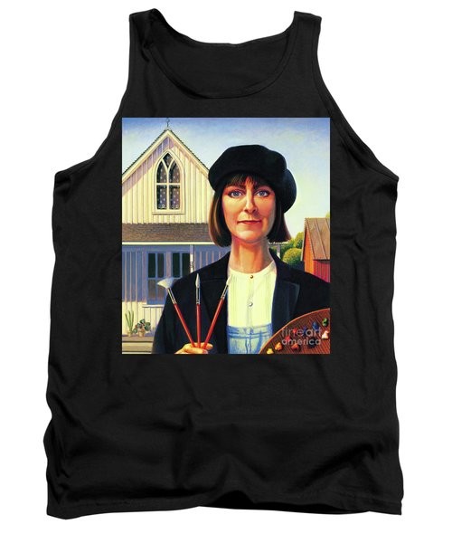 Robin Wood Self-portrait Tank Top