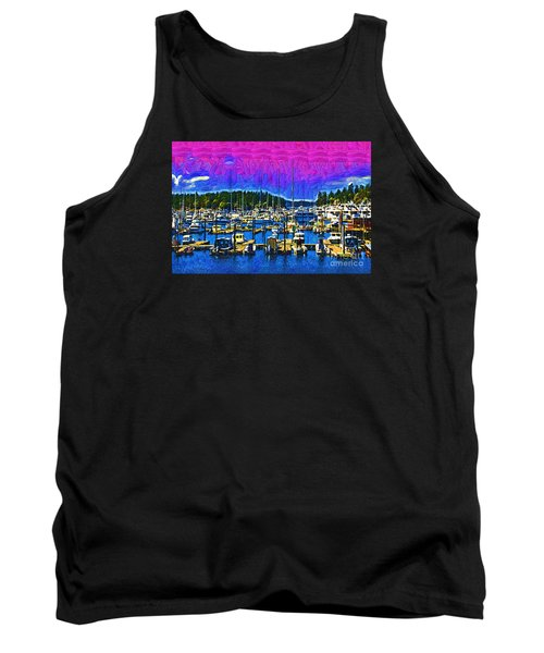 Roche Harbor 1 Tank Top by Kirt Tisdale