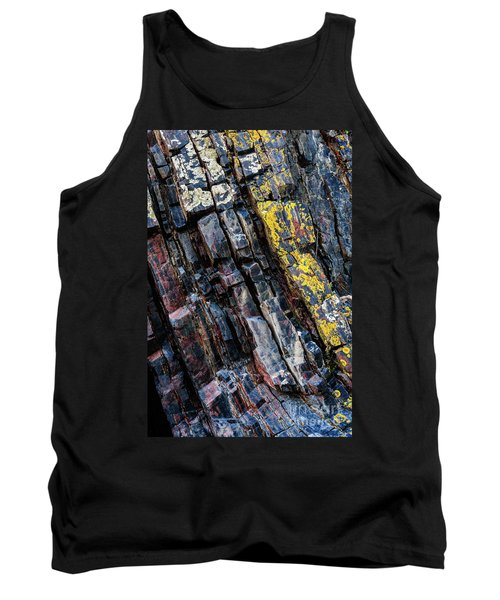 Tank Top featuring the photograph Rock Pattern Sc02 by Werner Padarin
