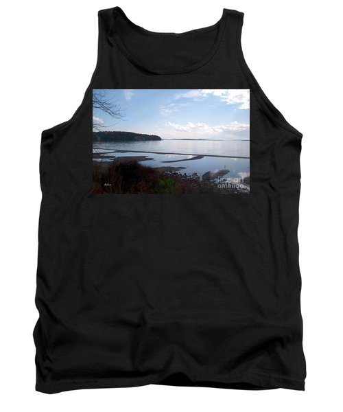 Tank Top featuring the photograph Rock Point North View Horizontal by Felipe Adan Lerma