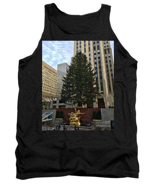 Rockefeller Center Christmas Tree Tank Top