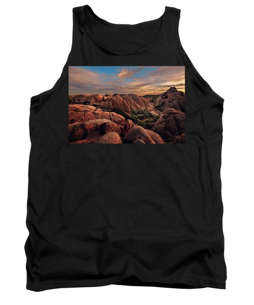 Rocks At Sunrise Tank Top