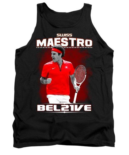 Roger Federer Maestro Tank Top