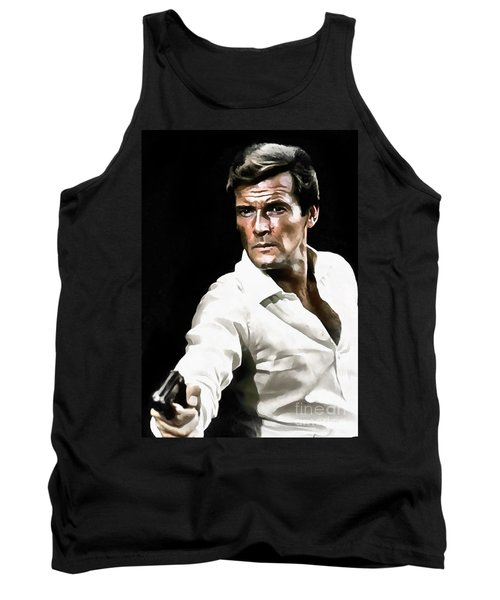 Roger Moore Tank Top