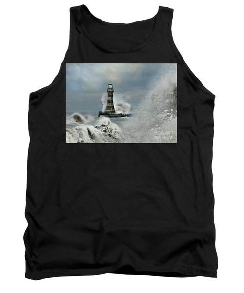 Roker Pier And Lighthouse Tank Top