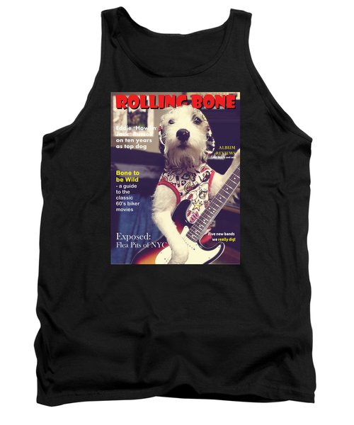 Tank Top featuring the photograph Rolling Bone Magazine by Richard Reeve