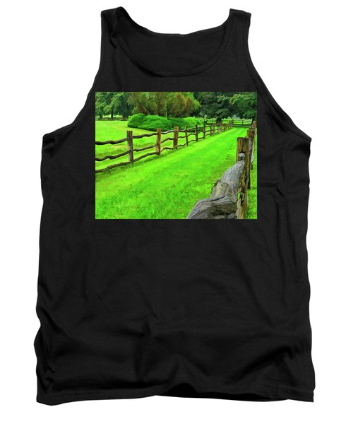 Rolling Rock Bridle Trail 2 Tank Top