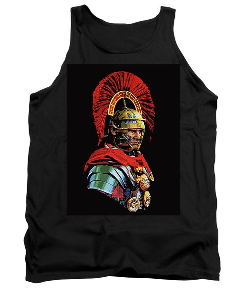 Roman Centurion Portrait Tank Top