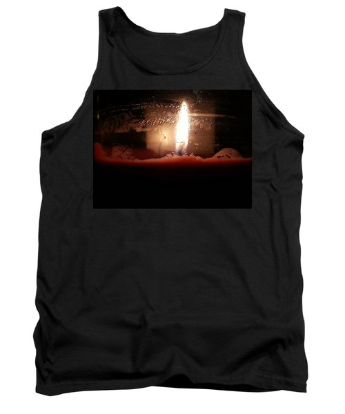 Romantic Candle Tank Top