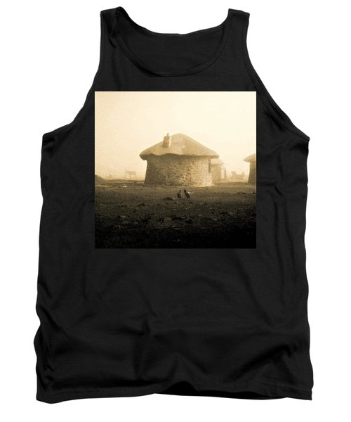 Rondavel In Lesotho Tank Top