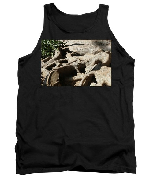Roots And Graffiti Tank Top