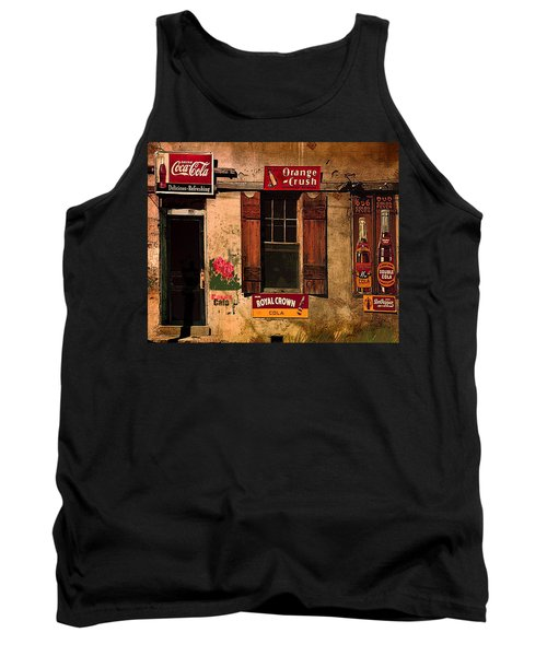 Rosas Cafe Tank Top by J Griff Griffin