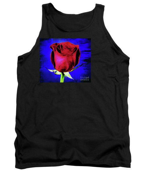 Rose - Beauty And Love  Tank Top by Ray Shrewsberry