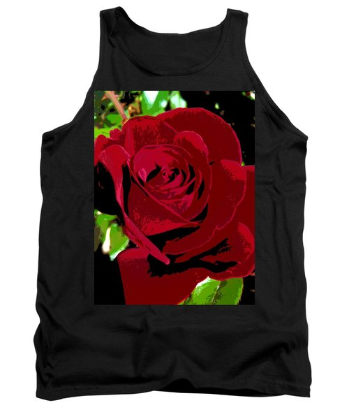 Rose Bloom Tank Top